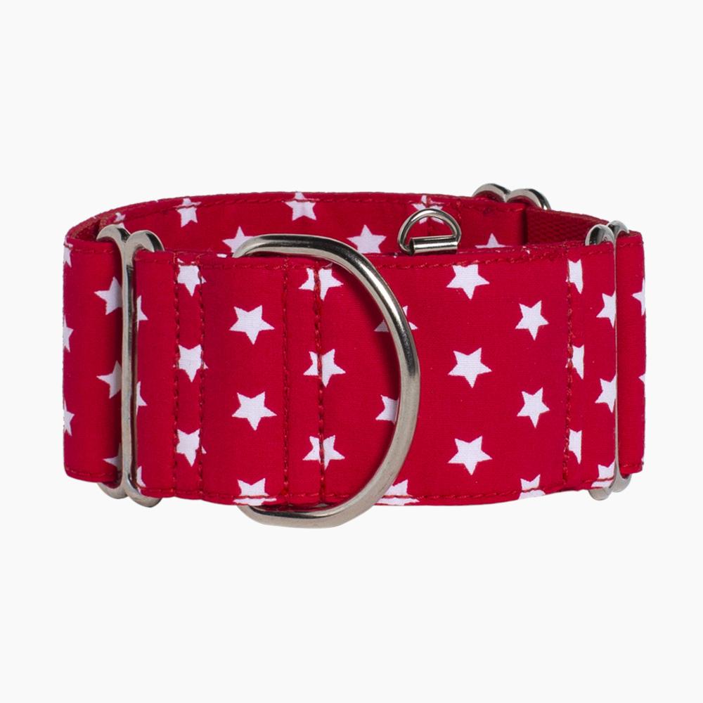 collar para perro Red Stars by Adora